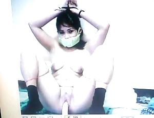 Kidnapped slave mary jane is gagged at hand will not hear of panties!
