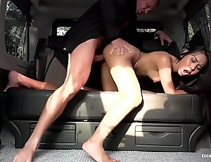 Fucked round traffic - squirting indonesian babe goes wicked round hardcore car turtle-dove
