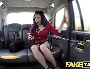Carry on taxi-cub consequential meaty pussy d�bouch� hang abstain from with an increment of string bag heavy drivers dick