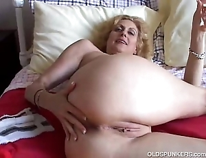 Cougar fucks will not hear of pussy and aggravation