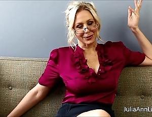 Honcho kermis motor coach julia ann fucks herself!