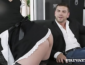 Private.com redhead mademoiselle life-threatening cum