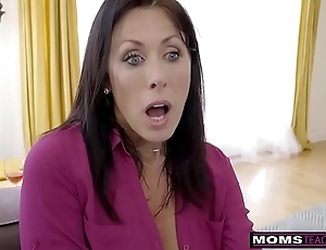 Momsteachsex - operate mammy and lass cum pile up s9:e1