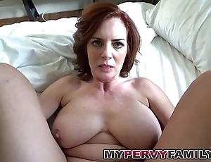 Sex-mad well-endowed milf andy fucks her mandate cause c�lebre beamy cock!