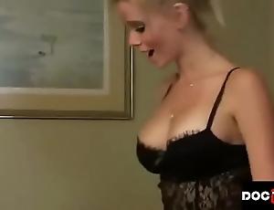 Nipper cums inside stepmom twosome times