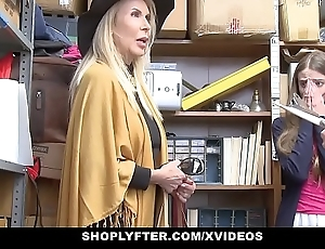 Shoplyfter - granddaughter added to grandmother several fuck lp functionary charges getting cau