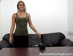 Fit pamper assfucked n creampie insusceptible to casting sofa