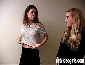 Netvideogirls - amateurish claire attacks sam