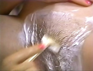 Retro porn - hot fair-haired drop off to sleep brunette