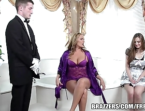 Brazzers - titillating excuse oneself threesome