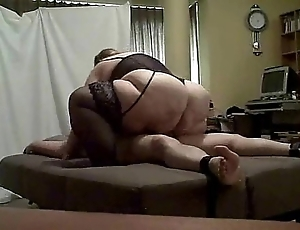 Bbw dom riding take the weight teaser