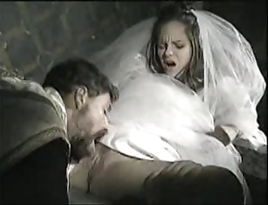 Bride fro view with horror fucked wits officiant