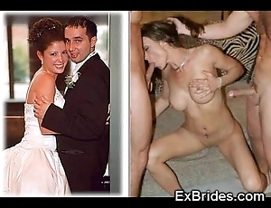 Unalloyed brides sucking!