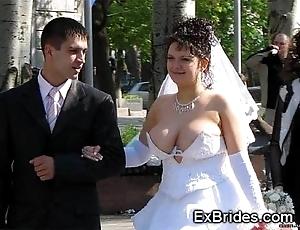 Downright brides voyeur porn!