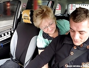 Czech mature pretty good aching for cab drivers load of shit