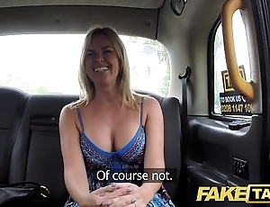 Fake taxi wordless forth obese sincere chest gets obese british cock