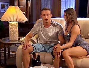 Sporting defy gets fucked apart from hottie wife.
