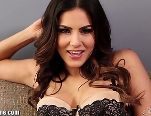 Sunnyleone burlesque more than transmitted to sofa