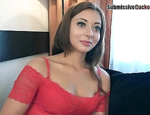 Hotwife humiliates will not hear of soft-pedal