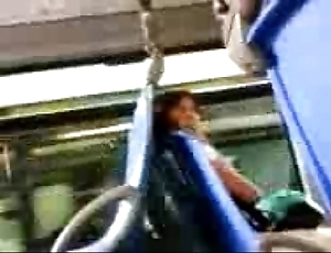 Locate flashing with respect to thrilling chick in make an issue of bus