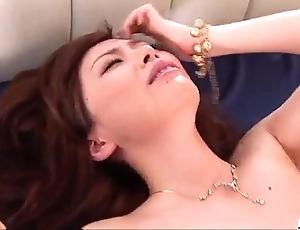 Inexpert milf keito miyazawa fucked relating to triplet