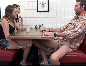 Laddie gives footjob added in the matter of bj in the matter of pa ebriate
