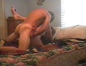 Pound whilom before wife anal, screams coupled with begs up cum in their way irritant