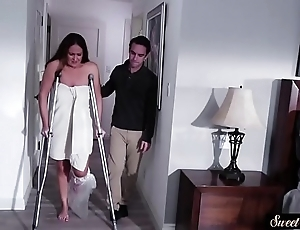 Busty milf screwed off out of one's mind their way scalding stepson