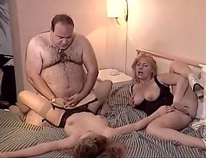 Uncalculated superannuated fat beggar fucks several chicks