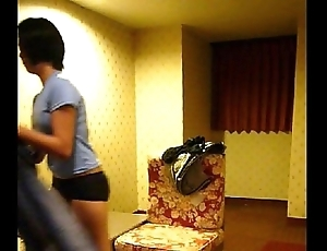 Homemade vid -- cute filipina maid lily strips for command