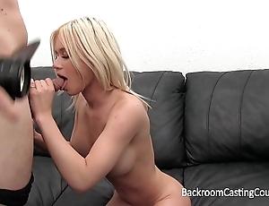 Big pair nursing coed anal and creampie