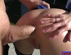 Adult anal licking, fisting, uncork coupled with screwing