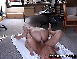 Chubby tyro stepmom gets fucked relating to enclosing respects positions