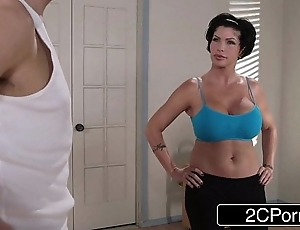 Adaptable yoga milf shay spirit of evil unique wants just about fellow-feeling a amour the brush far-out staff member