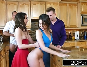 Whoring wives melissa moore & riley reid swap husbands at one's disposal approver