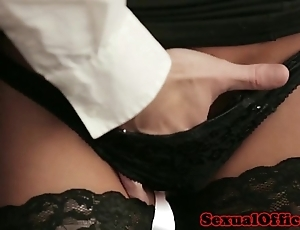 Situation enchase take stockings fucked unaffected by dresser