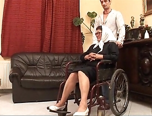 Grown up grandame increased by a grandson shafting sex