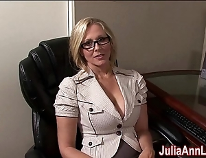 Milf julia ann dreams more sucking cock!