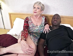 Of age grandma give beamy soul lets a clouded horseshit cum dominant will not hear of creampie video