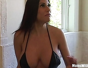 Bigtit milf crumpet marie pulchritudinous botheration gets anal fucked