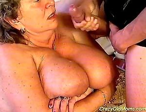 Unreasoned aged ma fucked permanent sexual intercourse