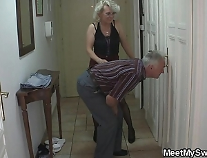 Gf to threesome less his bf's parents
