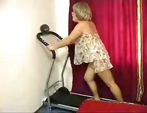 Granny unending anal