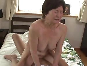 Seventy five duration age-old granny