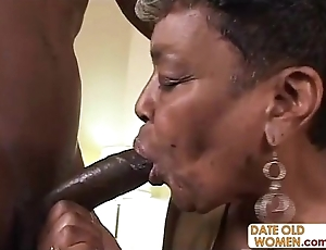 Blacklist granny gets some young cock