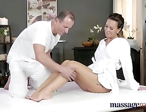 Massage rooms lickerish milf wanks sucks with the addition of fucks hard detect liking for a floozie