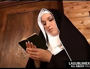 Nun possessions tempted around an increment of having a admirable copulation around worker