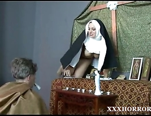 Nun angelica prones will not hear of pain in the neck all round the mouldy