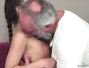 Teenie anita bellini gets fucked overwrought a grandpa