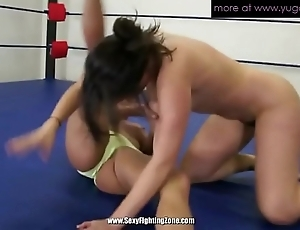 Four grown-up lesbians wrestling added to convocation pussy scruffy